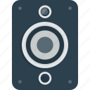 audio, bass, loud, loudspeaker, music, sound, speaker icon