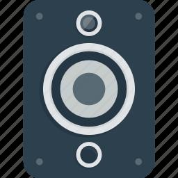 audio, bass, loud, loudspeaker, music, sound, speaker icon