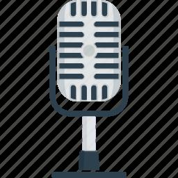 audio, mic, microphone, music, record, recording mic, sing, singer, sound, speech icon