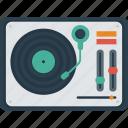 audio, dj, electro, mixer, mixing, mixing desk, mixing table, music, sono icon