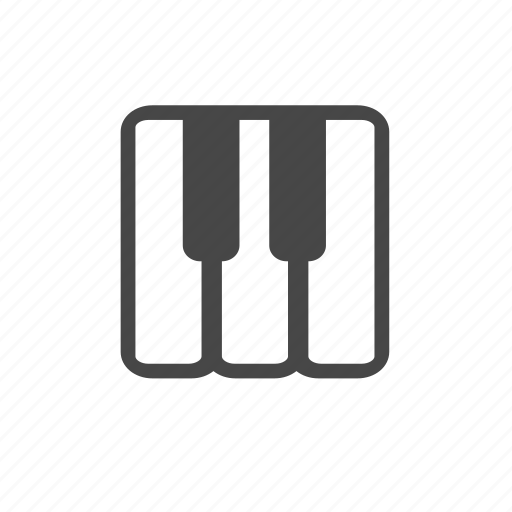 electone, instrument, keyboard, keys, music, piano icon