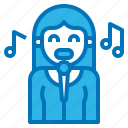avatar, instrument, music, musical, singer