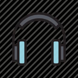 audio, earphone, headset, music, sound, speaker icon