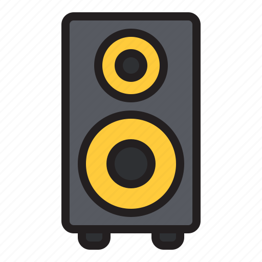 amp, audio, home, music, sound, speaker, theater icon