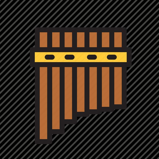 audio, flute, instrument, music, sound, wind icon
