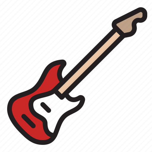 audio, band, guitar, instrument, music, sound, stringed icon