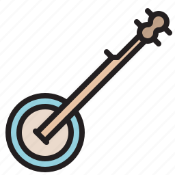 audio, banjo, instrument, music, sound, stringed icon