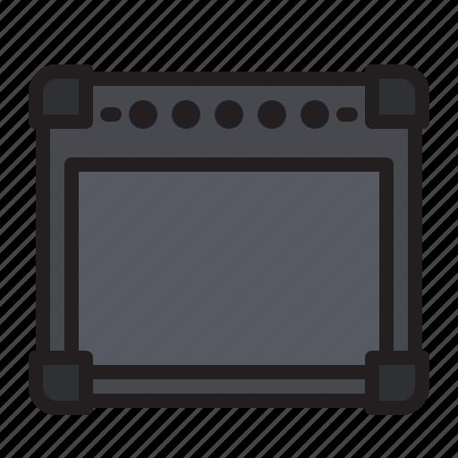 amp, amplifier, bass, guitar, music, speaker icon