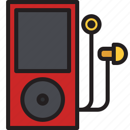 audio, earphone, ipod, mp3, music, player icon