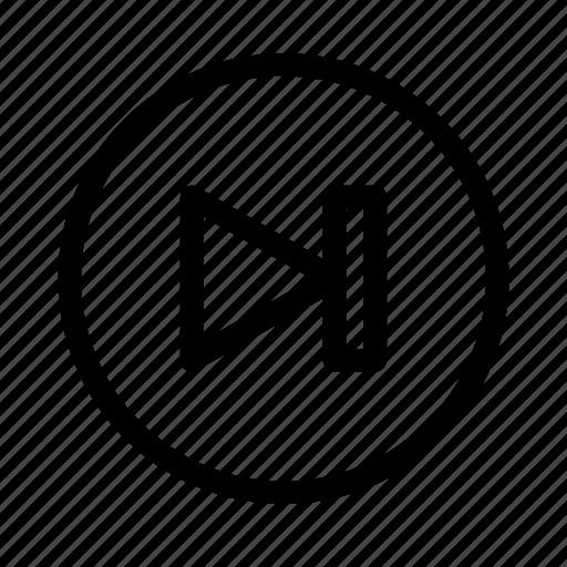 fast, forward, music, sport, video icon