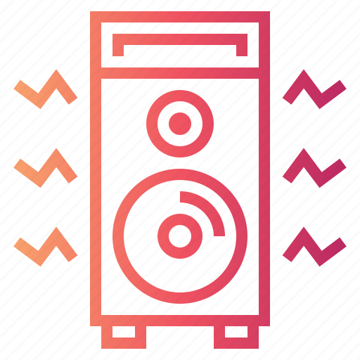 Amplifier, audio, speaker icon - Download on Iconfinder