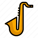 audio, jazz, music, saxophone, sound, trumpet
