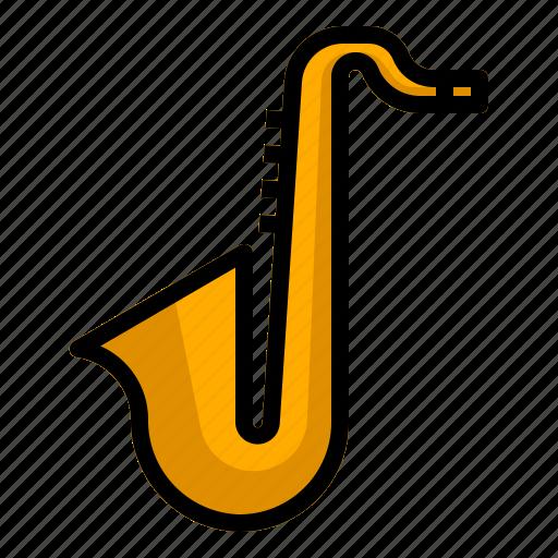 audio, jazz, music, saxophone, sound, trumpet icon