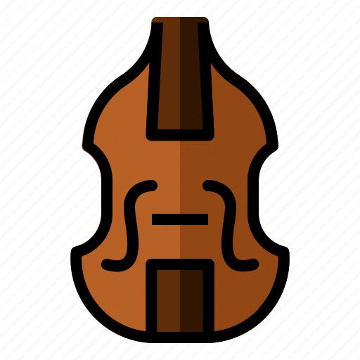 audio, bass, classic, instrument, music, sound icon