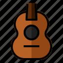 acoustic, audio, guitar, instrument, music, sound, ukuele icon