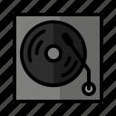 album, audio, classic, music, player, sound, vinyl icon