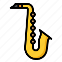 instrument, music, musical, saxophone