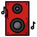 instrument, music, musical, speaker icon