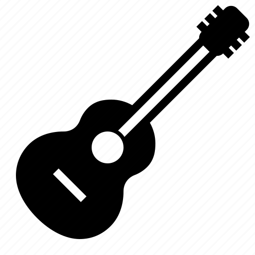 acoustic, audio, guitar, instrument, music, song, stringed icon