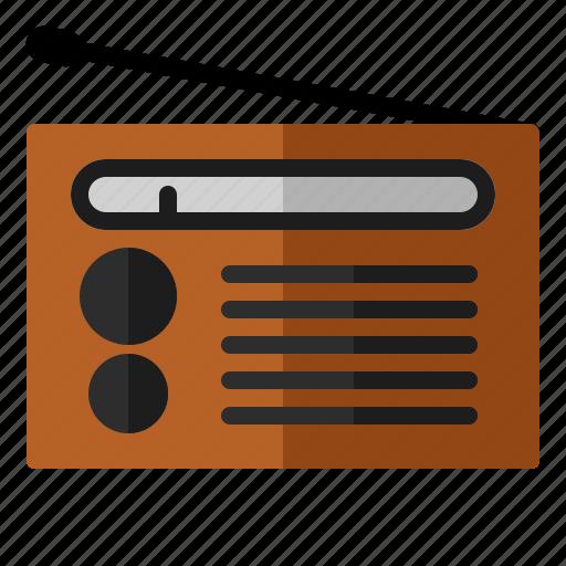 am, audio, fm, music, radio, sound icon