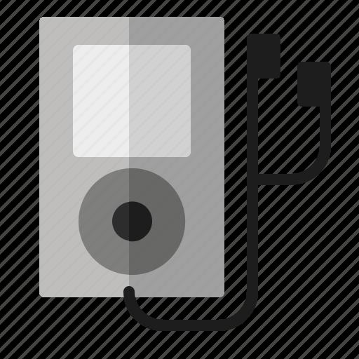app, earphone, ipod, music, player, sound icon