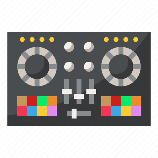 controller, dj, instrument, music, musical icon