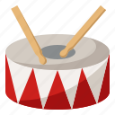 drum, instrument, music, musical