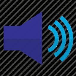 loudspeaker, music, song, sound, speaker icon