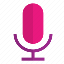 mic, microphone, music, record, recording, song, sound icon