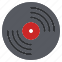 disc, long, lp, music, old, play, retro icon