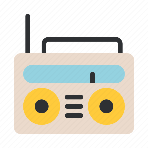 music, old, radio, retro, song, sound, vintage icon