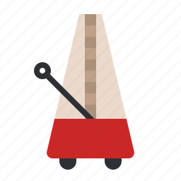 metronome, music, old, song, sound, vintage icon