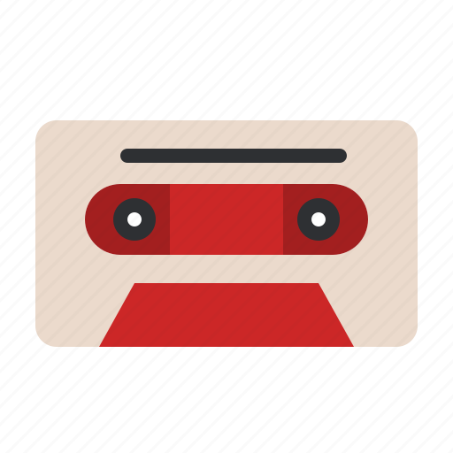 album, music, old, retro, song, tape, vintage icon
