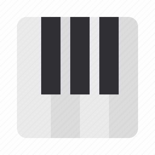 audio, instrument, keyboard, music, piano, song icon
