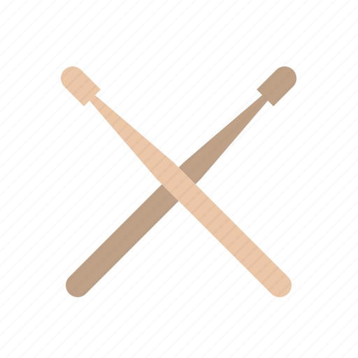 audio, drums, instrument, music, song, sound, sticks icon