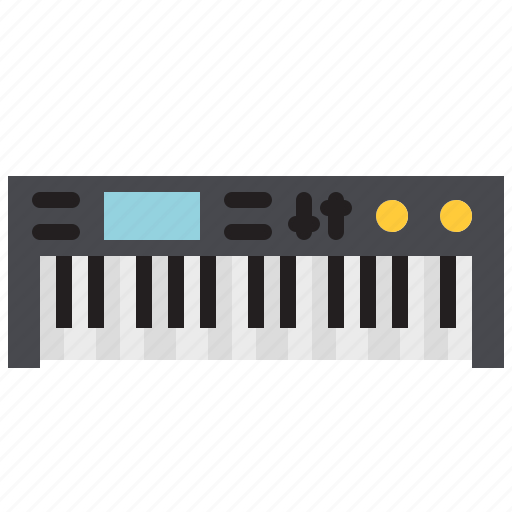 digital, instrument, keyboard, music, piano, song, synth icon