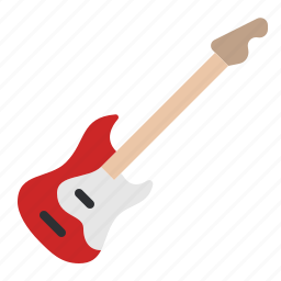 audio, guitar, instrument, music, song, sound, stringed icon