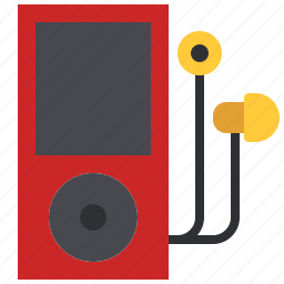 audio, earphones, ipod, mp3, music, player, song icon