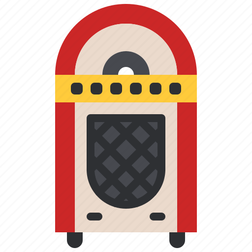 disc, jukebox, lp, music, old, retro, vintage icon