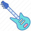 bass, guitar, instrument, music