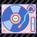 dj, mixer, music, turntable