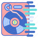 dj, edm, mixer, music