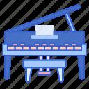 grand, instrument, music, piano
