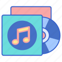 album, music, record, song icon