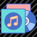 album, music, record, song icon