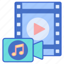 camera, multimedia, music, video