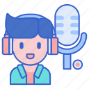 audio, music, producer, record icon