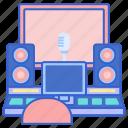 audio equipment, music, recording, studio