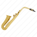 band, brass, instrument, music, sax, saxophone, song icon