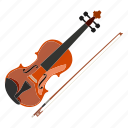 band, chamber, classical music, instrument, music, string, violin icon